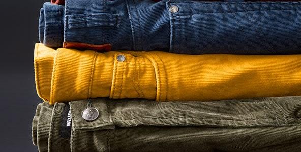 Cordhosen für Herren: warme Freizeithosen im klassischen Stil   Walbusch