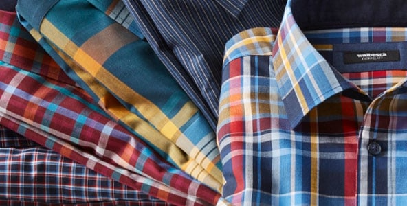 Karierte Hemden: lässige Freizeit-Looks & smarte Business-Auftritte | Walbusch