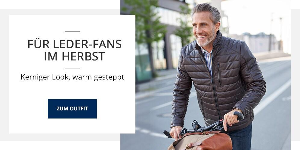 Outfit Für Leder-Fans im Herbst | Walbusch