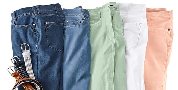 Baumwollhosen für Damen in unterschiedlichsten Ausführungen | Walbusch