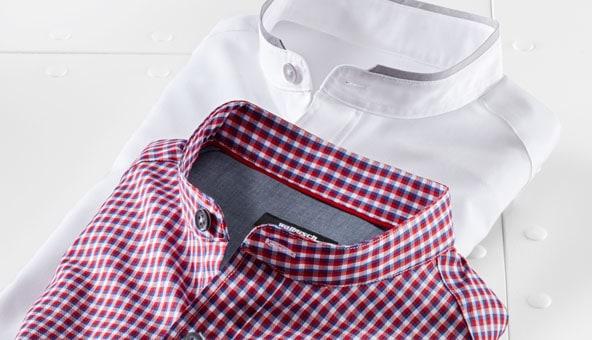 Stehkragenhemden in vielen Schnitten und Mustern | Walbusch
