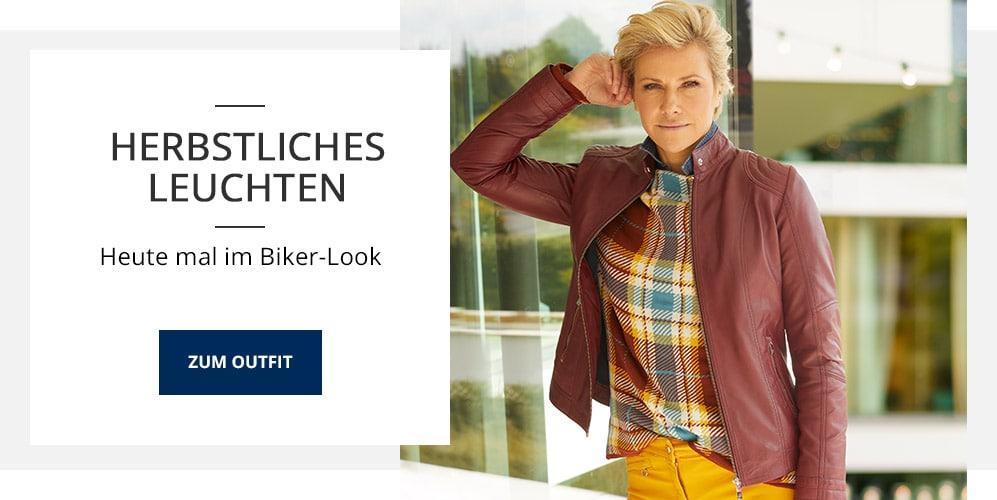 Outfit TV Lammnappa-Bikerjacke   Walbusch