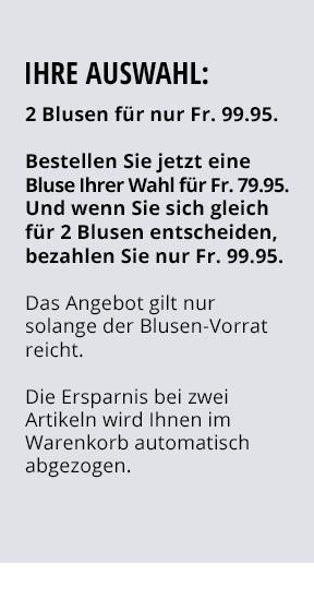 Extraglatt-Bluse Kelchkragen   Walbusch