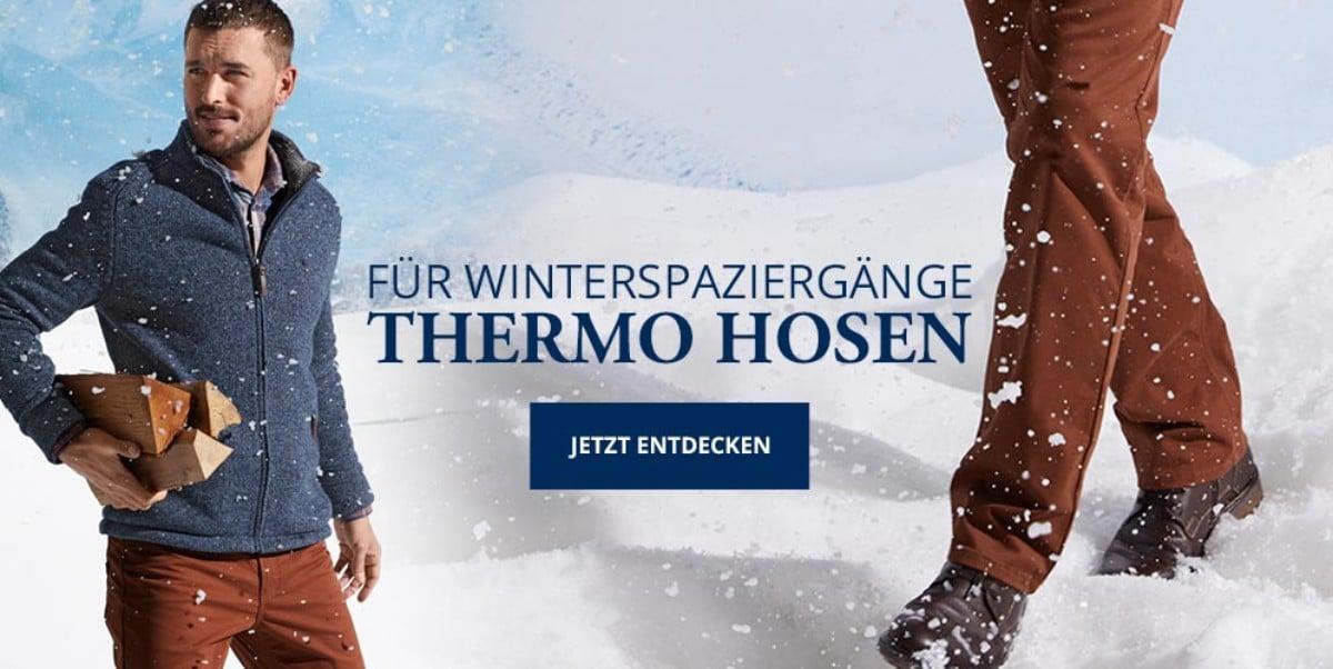 Thermo Hosen für Herren | Walbusch