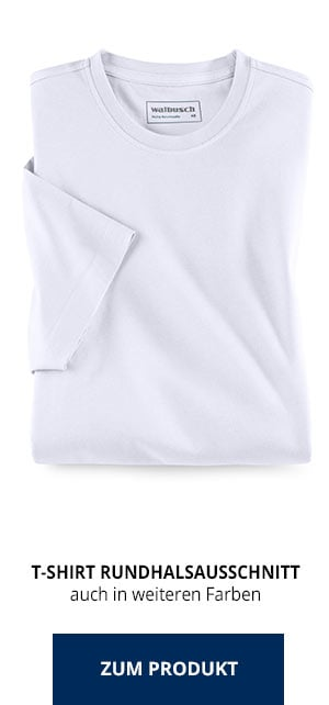 T-Shirt Rundhalsausschnitt | Walbusch