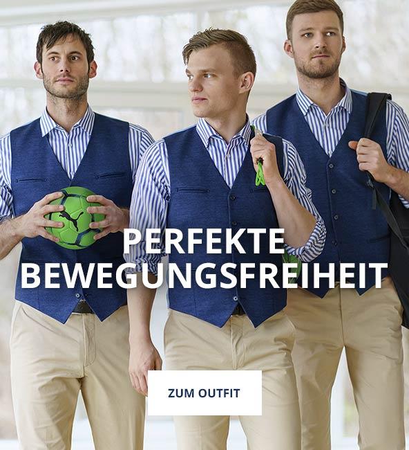 Outfit Perfekte Bewegungsfreiheit | Walbusch