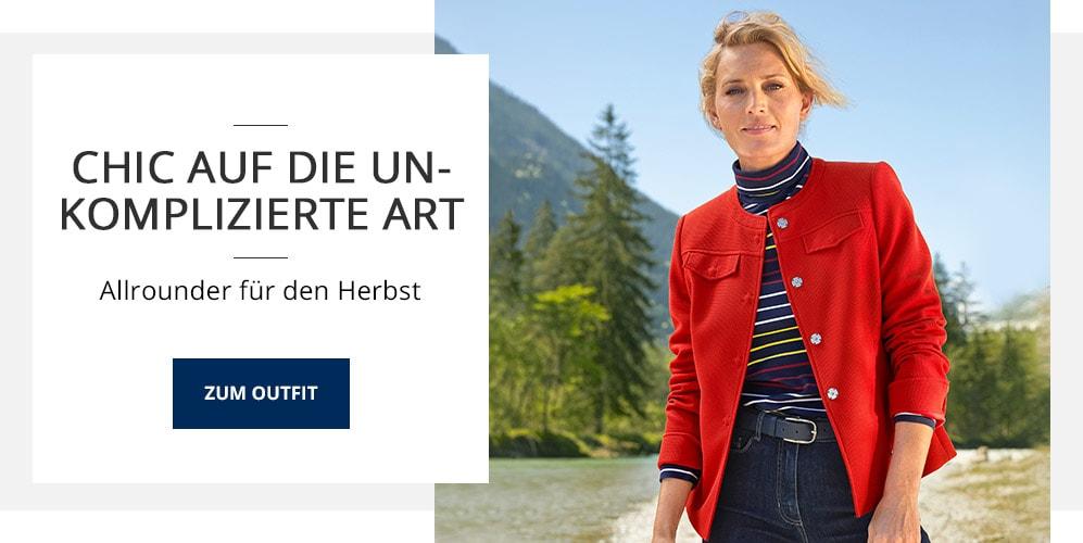 Outfit Waffelstruktur-Jäckchen   Walbusch