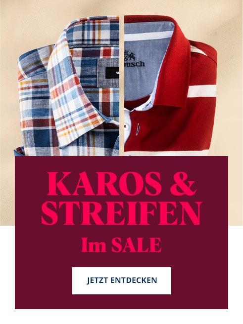Karos & Streifen Sale   Walbusch