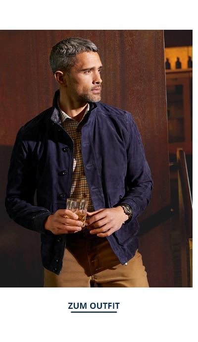 Outfit Ziegenvelours-Lumber | Walbusch