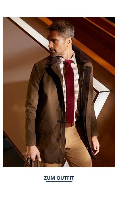 Outfit Wetter Kurzmantel | Walbusch