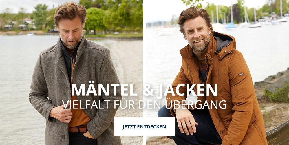 Zeit für neue Mäntel und Jacken | Walbusch