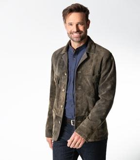Das Lederjackett und die Leder-Hemdjacke | Walbusch