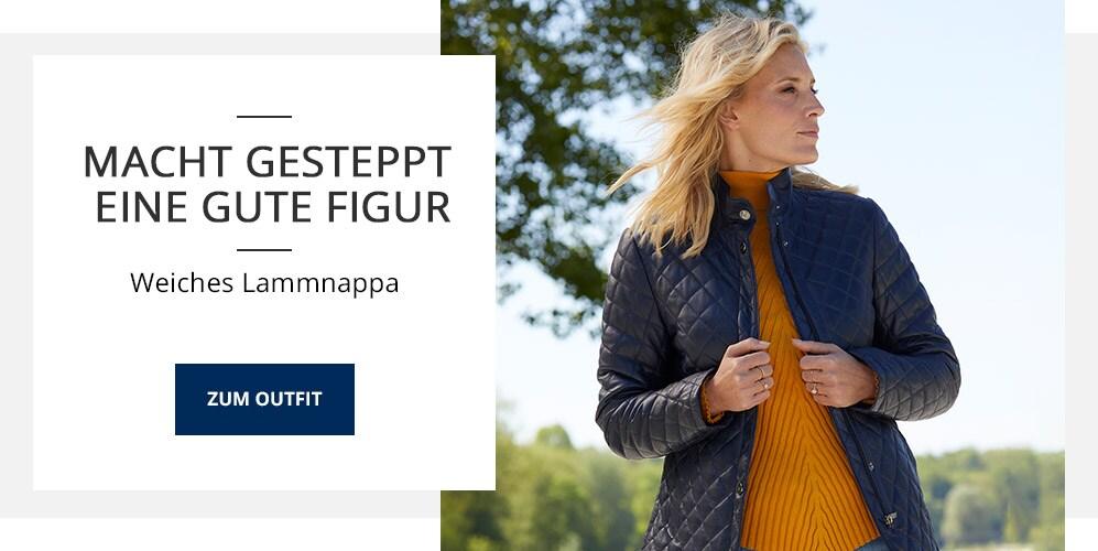 Outfit Lamnappa-Steppjacke   Walbusch