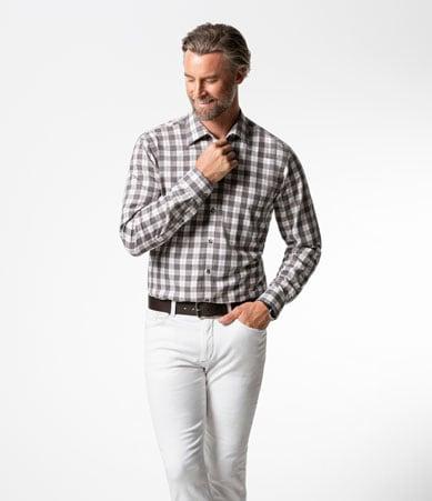 Flanellhemd: lässiger, gemütlicher Look, der dennoch gepflegt aussieht | Walbusch
