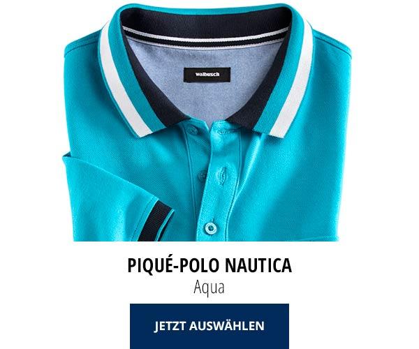 Piqué-Polo Nautica Aqua   Walbusch