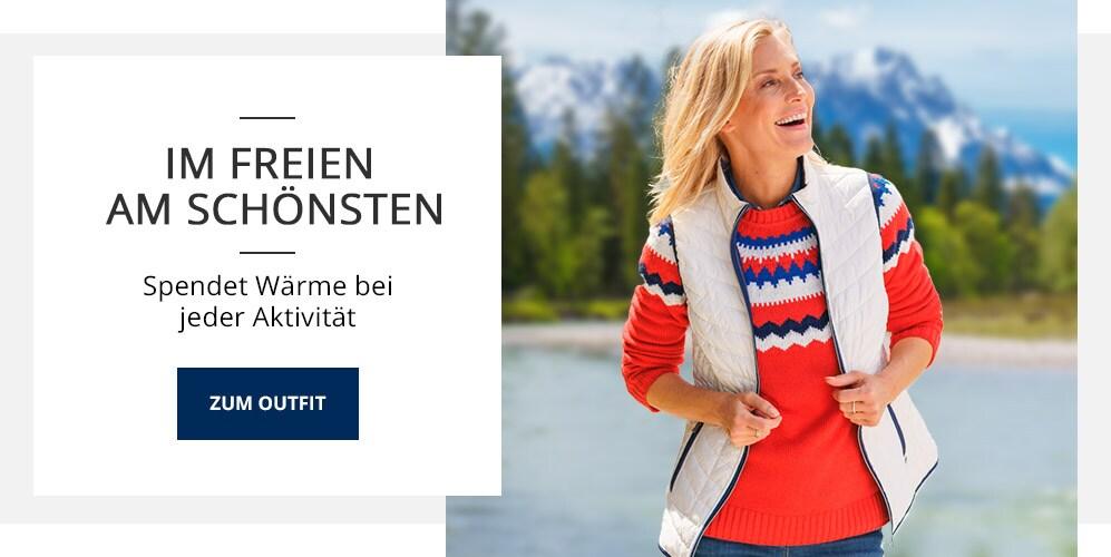Outfit TV Wende-Steppweste   Walbusch