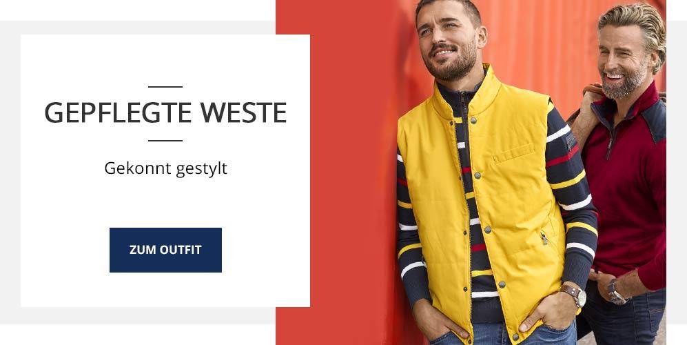 Outfit Gepflegte Weste | Walbusch