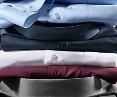 Bügelfreie Hemden in vielen Farben und Mustern   Walbusch