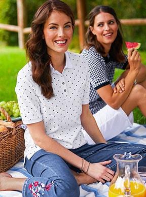 Shirts für Damen mit Materialien zum Wohlfühlen   Walbusch