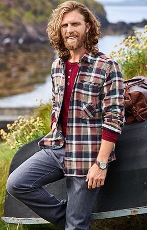 Holzfällerhemd mit Karomuster: der Klassiker unter den Falnellhemden   Walbusch