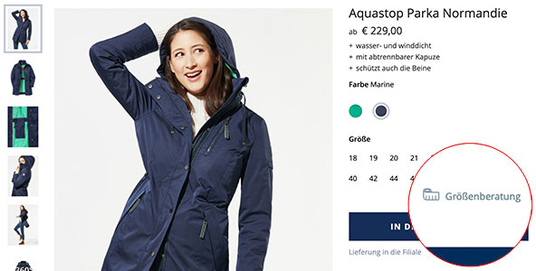 So finden Sie die optimale Größe für ihre Damen-Funktionsjacke | Walbusch