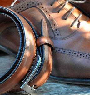 Lederjacken kombinieren: Schuhe & Gürtel | Walbusch