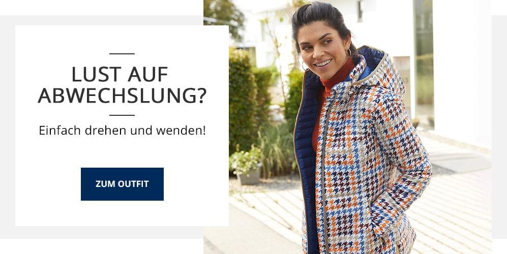 Outfit Wendesteppjacke Pepita   Walbusch