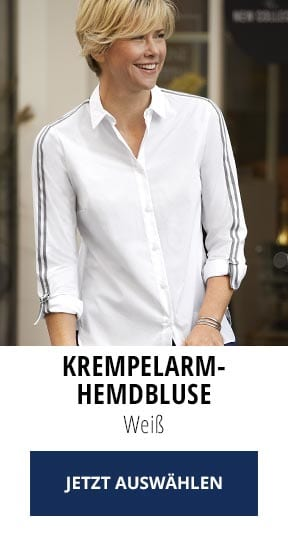 Krempelarm-Hemdbluse   Walbusch