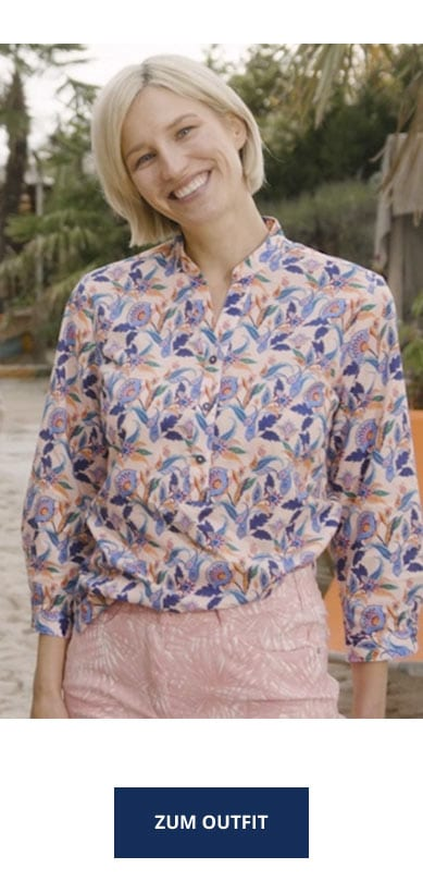 Blumenmuster Outfit   Walbusch