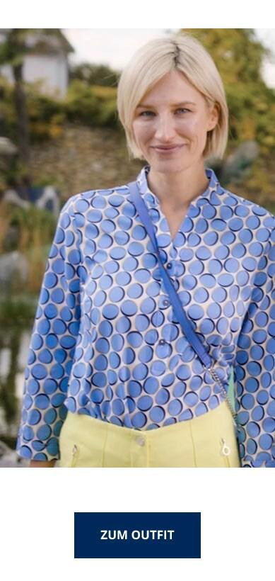 Pünktchenmuster Outfit | Walbusch