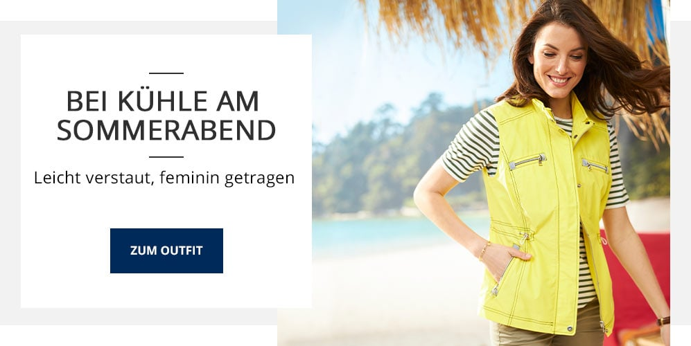 Outfit Bei Kühle am Sommerabend | Walbusch