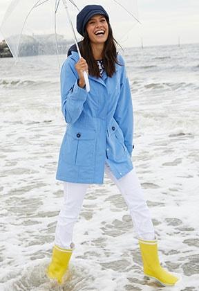 Damen-Funktionsjacken mit einem wetterfesten Outdoor-Look | Walbusch