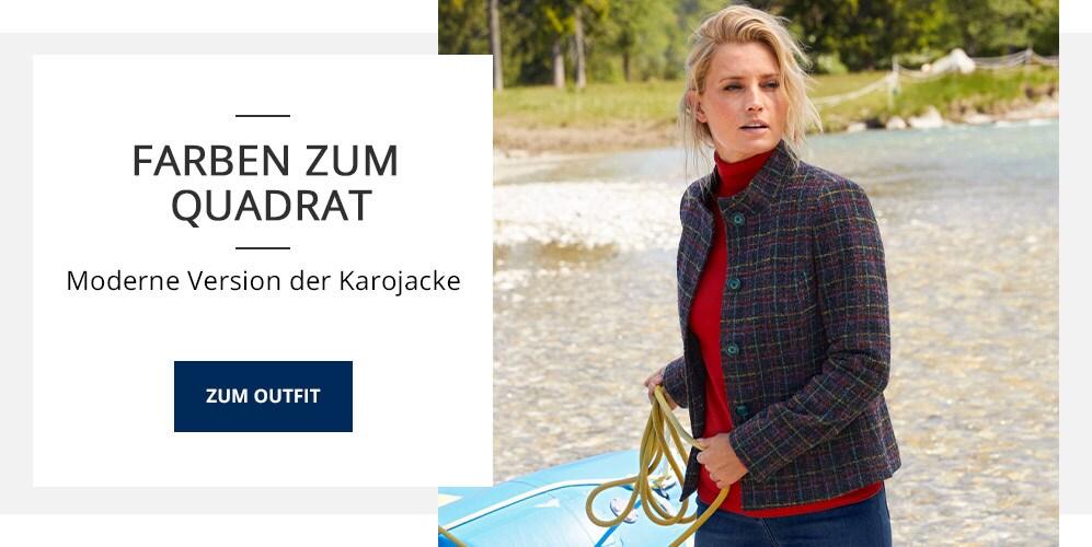 Outfit Karo-Wollblazer   Walbusch