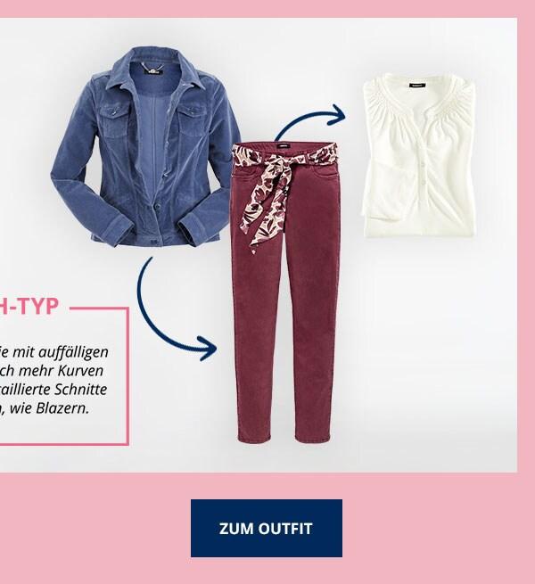Das passende Outfit zum H-Typ | Walbusch