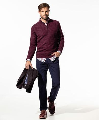 Troyer für Herren stilvoll, elegant kombiniert | Walbusch