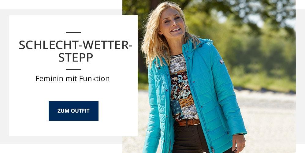 Outfit Aquastop-Steppjacke   Walbusch