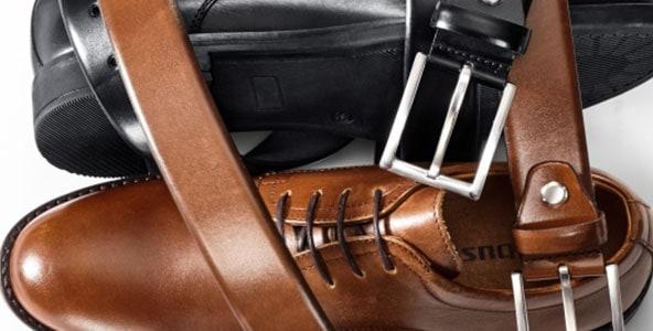 Schuhe aus hochwertigem, natürlichem Leder   Walbusch