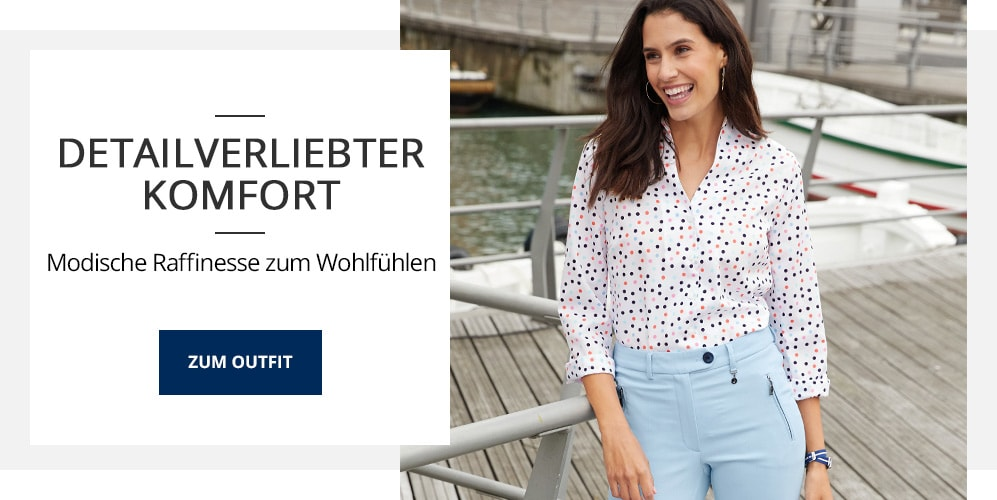 Outfit Detailverliebter Komfort   Walbusch