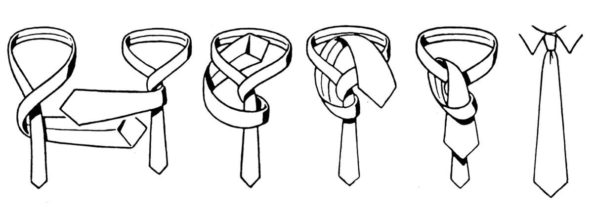 Four-in-Hand-Knoten | Walbusch