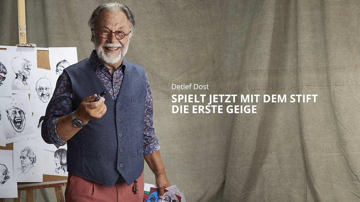 Detlef Dost: Vom Großvater zum Märchenonkel.