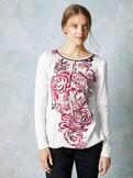 Shirtbluse Winterrose