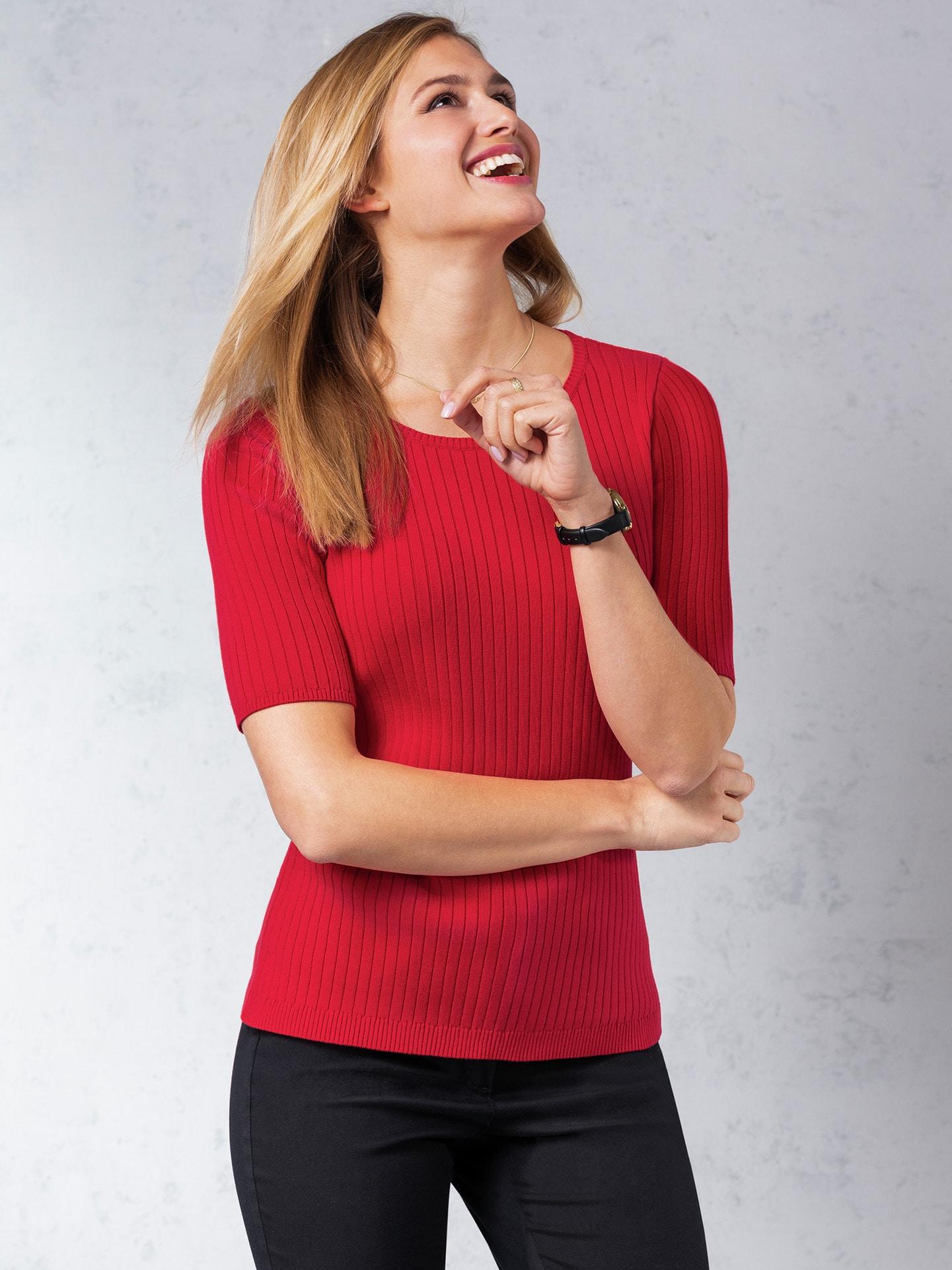 Image of Strick Shirt Pima Cotton Uni