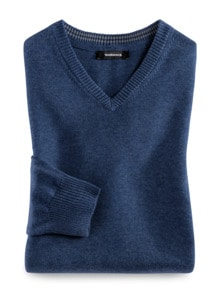 V-Pullover Cashmere Touch