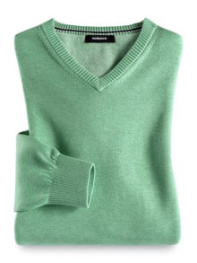 V-Pullover Soft Cotton