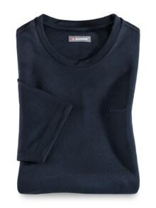 Klepper Dry Touch T-Shirt Navy Detail 1