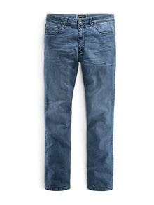 Jogger-Jeans Five Pocket Light Blue Detail 1