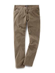 Five Pocket Feincordhose Sand Detail 2