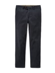 Chino Cashmere-Finish Navy Detail 2