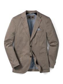 Highstretch-Sakko Pima-Cotton