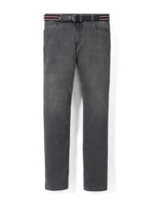 Gürtel-Jeans Modern Fit Grey Detail 1
